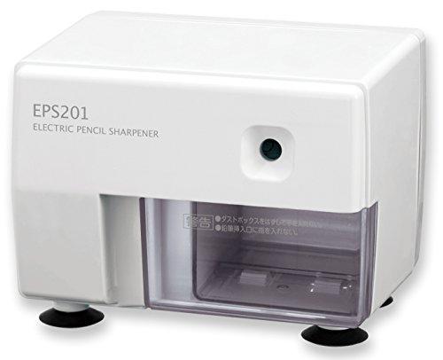 アスカ鉛筆削り電動シャープナーホワイトEPS201W