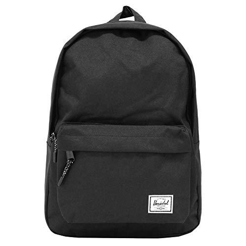 HERSCHEL SUPPLY ハーシェル サプライ Classic Backpack Mid-Volume クラシック バックパックミッドボリューム 10485 18L B4 リュックサック デイパック バッグ Black:10485-00001 [並行輸入品]