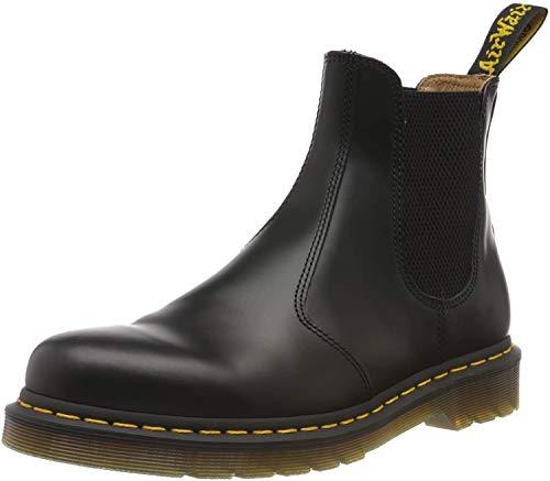 Dr. Martens 2976 Chelsea Boot,Black Smooth,5 UK (Women's 7 M US/Men's 6 M US)