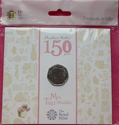 Mrs Tiggywinkle Royal Mint paquete de 50 unidades