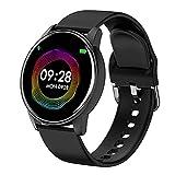 XYZK Orologio intelligente da donna in tempo reale previsioni del tempo Smartwatch Bluetooth impermeabile Activity Tracker cardiofrequenzimetro Sport Orologio intelligente da donna Android iOS (A)