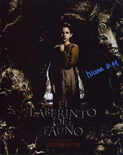 Ivana Baquero Signed Pan's Labyrinth El laberinto del fauno 8x10 Photo W COA pj