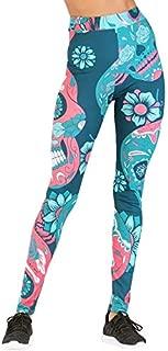 BEESCLOVER Women Yoga Pants Sports Leggings Sport Women Fitness Print High Waist Workout Running Skinny Slim Pants Gym Trousers