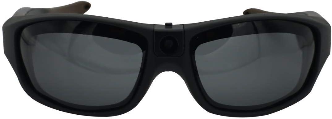 Viview G40 Sports Video Camera Glasses - Outdoor - HD1080@30fps/720P@60fps IP55 Waterproof w/OTG Function & Adjustable Lens- Four Colors (Carbon Black)