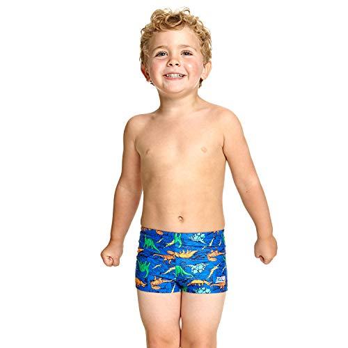 Zoggs Kinder Dino Land Hip Racer zwembroek