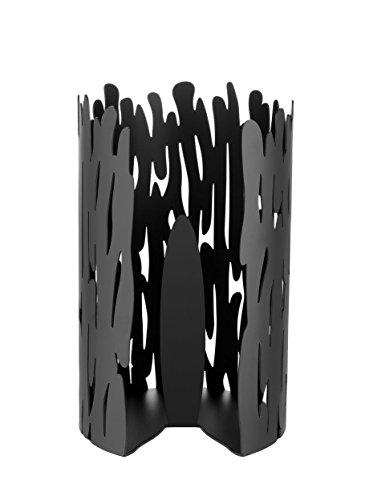 Alessi | Barkroll BM04 B - Design Küchenrollenhalter, Edelstahl, Schwarz
