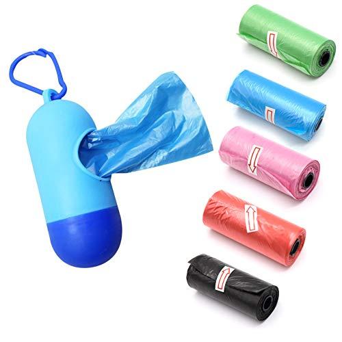 WENTS Baby Care - Bolsas de basura desechables de plástico para colgar pañales de bebé, 1 unidad, caja azul, 6 unidades