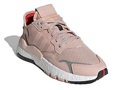 adidas Mujer Nite Jogger W Zapatillas Rosa, 38 2/3