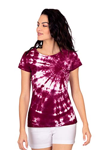 Trigema 537271120 Camiseta, Sangria, XXL para Mujer