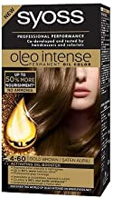 SYOSS Oleo Intense Permanent Oil Color Professional Performance Free AMMONIA 4-60 Gold Brown
