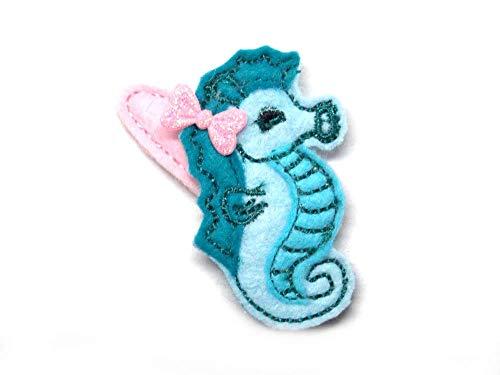 Seepferde Haarspange für Kleinkinder - freie Farbwahl