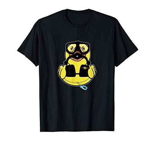 Minentaucher Ente Taucher Gummiente T-Shirt