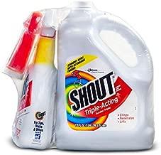 Shout Triple-Acting Liquid 1 Gallon Refill + 32 oz. Shout Trigger zaz (32 oz. Shout Trigger + 1 Gallon Refill +)