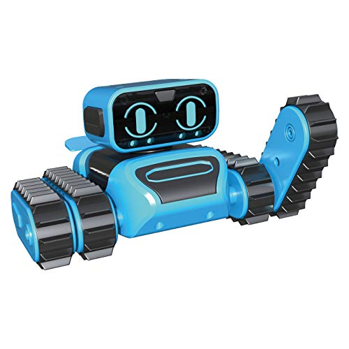 OWI RE/CO Wireless Remote-Controlled Robot Kit   Tank-Like Tracks Allow Off-Road Fun   Ride Over Multiple Terrains   Access Different Play Modes   106 Piece Do-It-Yourself Assembly