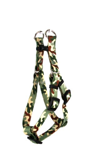 Yellow Dog Design Step-In Harness, Large, Camo