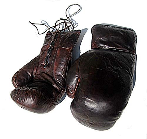 Boxhandschuhe aus Leder im Retro Style NEU