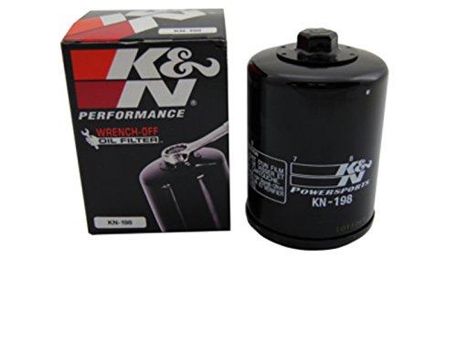K & N aceite negro KN de 198para Polaris Victory