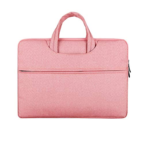 "Water Resistant Laptop Sleeve Case Bag for 11.6"" Samsung Chromebook 3, 12"" Galaxy Book 2/11.5"" RCA Galileo Pro / 11.6"" Acer Chromebook 11, Spin 11/11.6"" Asus Chromebook C202SA (11.6-12, Pink)"