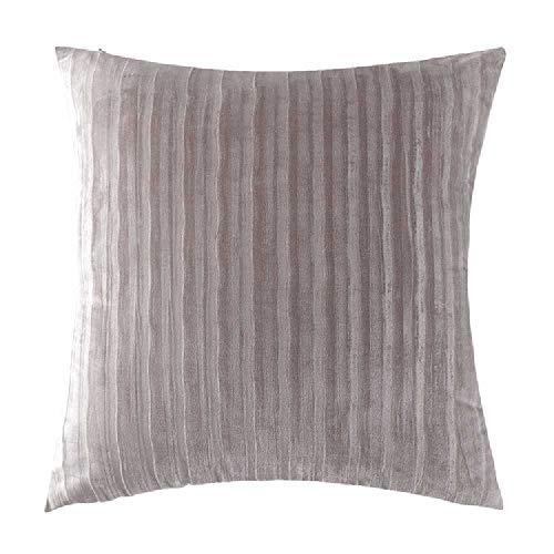 SHUIZAI Kissen SHUIZAI Die Niederländische Samt-Geometrie Drückt Sich Auf Die Matratze Und Hält Das Sofa. 45 * 45 Ohne Kern/Grau