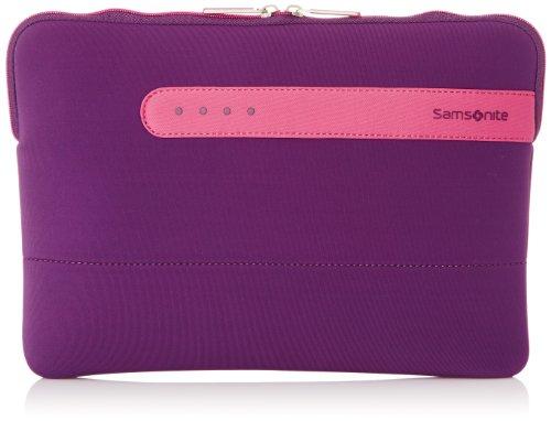 Samsonite Colorshield 58132 Handtas Organizer voor Macbook Air/Notebook, 13 inch, 2,5 liter, paars/roze, 13 inch