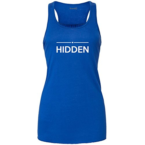 Hidden, Ladies Tank Top - Royal L