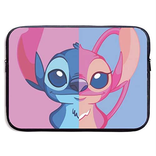 Stitch E Angel - Lilo E Stitch Laptop Sleeve Case 13-15 Inch,Neoprene Laptop Sleeve/Notebook Computer Portable Bags