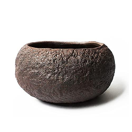 YAOLUU Tiestos para Plantas Planta de Plantas de cerámica Retro para Plantas al Aire Libre para Interiores Plantas recipientes para decoración del hogar, Oficina Macetas Balcon