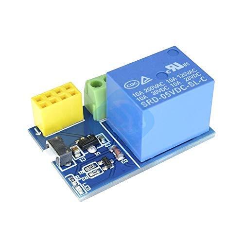 ZTSHBK ESP8266 ESP-01S ESP01 S 5-V-WLAN-Relaismodul für Arduino ESP01S Dinge Smart Home Fernbedienung Telefon-APP (kein ESP-01S)