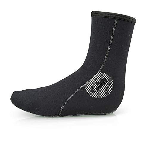 Gill 3MM Neopren-Neoprenanzug-Socken Schwarz - Unisex - Geklebt und Blindnaht - Nahtfreie Sohle. 3mm doppelt gefüttertes Neopren