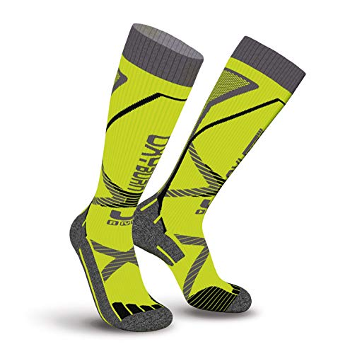 Oxyburn Crossfit Pain No Gain Kneehigh Energizer Chaussettes Homme, Vision/Blade, Size 39/41