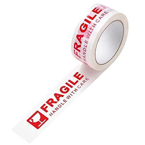 Fragile Handle Sichere und Sticky-Siegel for Ihre Kästen, mit Sorgfalt Verpackung Klebeband Rolls 4.7cm * 85M, (6 PCS/Röhrchen)