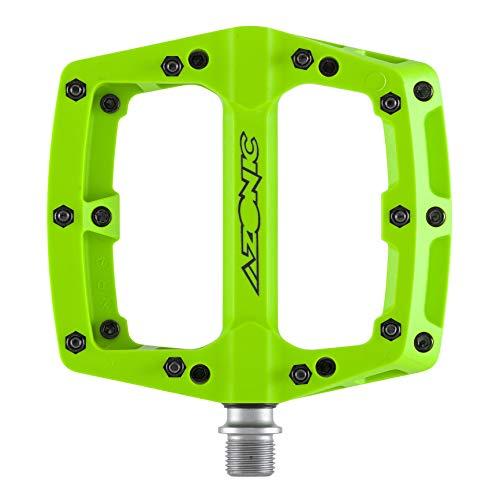 AZONIC - Pedale Blaze, colore: Verde neon