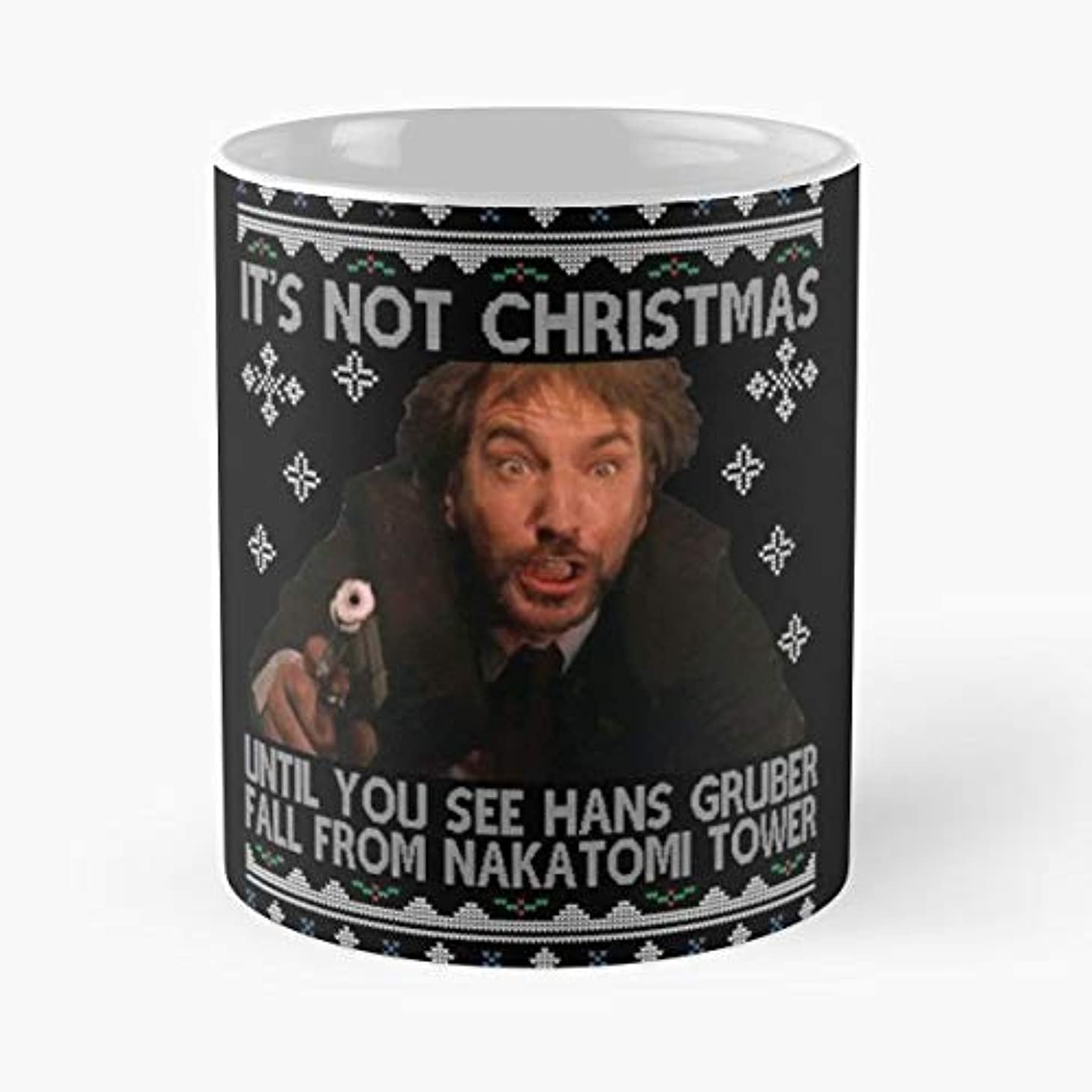 Die Hard Hans Hanz - 11 Ounce For Coffee, Tea, Cocoa And Mulled Drinks, The Best Gift Holidays.