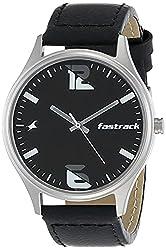 Fastrack Analog Black Dial Men's Watch,Titan,3229SL02 / 3229SL02