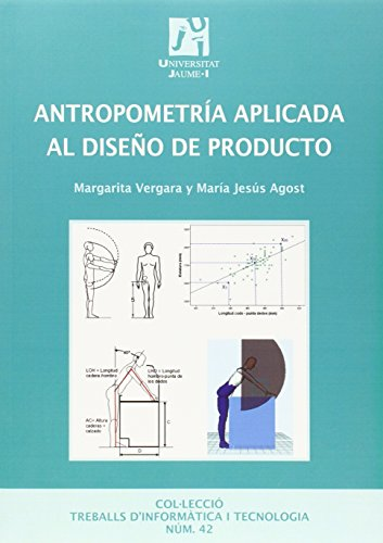 Antropometría aplicada al diseño de producto: 42 (Treballs d'informàtica i tecnologia)