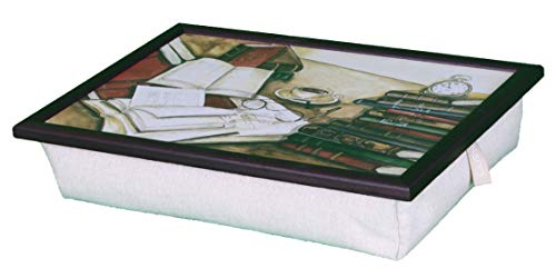 Vassoio da letto con cuscino - Libri - Laptray ideale anche per il vostro PC