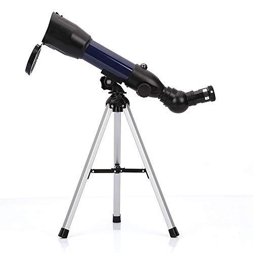 Geertop Telescopio Refractor astronómico 360X50 mm AZ con trípode de Mesa y brújula, para niños. Observar el Cielo y observar pájaros