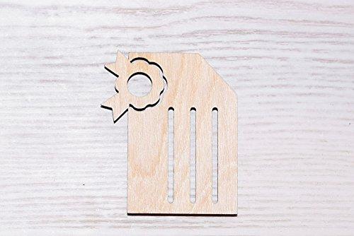 Set van 10 Houten bord te koop Laser Cut, hout uitsparing, multiplex figuur, vorm hout Ornamenten Craft vogel Decoratie Decoupage Ongeschilderd (EW0034) 10cm