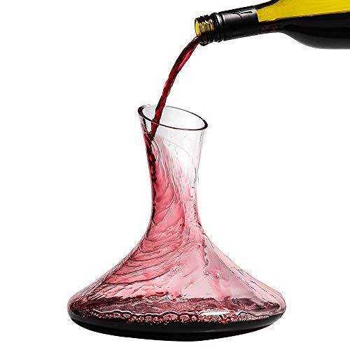 Umi.by Amazon Jarras y tinto decantadores 1100ml Jarra de vino Decanta
