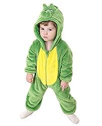 1. Tonwhar Unisex Toddler Dinosaur Onesie Romper
