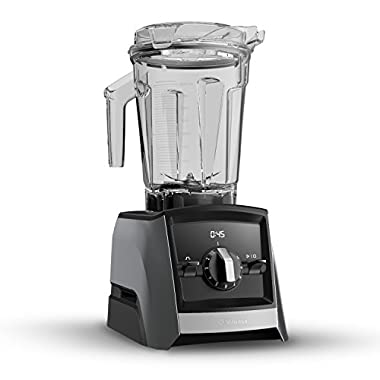 Vitamix A2300 Ascent Series Smart Blender, Built-In Wireless Connectivity, Professional-Grade, Slate