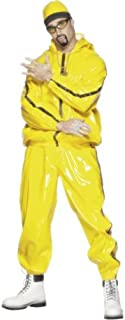 Smiffy's Men's Rapper Suit, Hooded Jacket, Pants and Hat, Icons and Idols, Serious Fun, Size