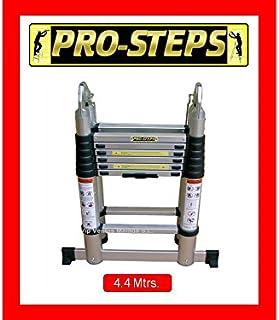 Escalera telescópica 4.4 mtrs. A-Type marca Pro-Steps PSTA44
