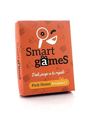 Smart Games Amateur - Una gymkana en casa con pruebas de ingenio para todos los públicos