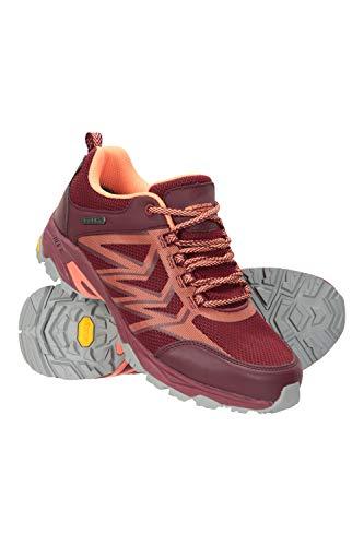 Mountain Warehouse Pace Rival Zapatillas para Correr Mujer - Suela Vibram de...