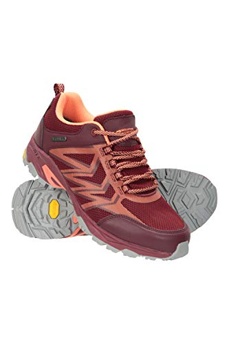 Mountain Warehouse Pace Rival Extreme Zapatillas para Correr Mujer - Suela Vibram de Gran adherencia, Calzado Ligero, Plantilla de EVA, Forro de Malla - para Caminar, Viajar