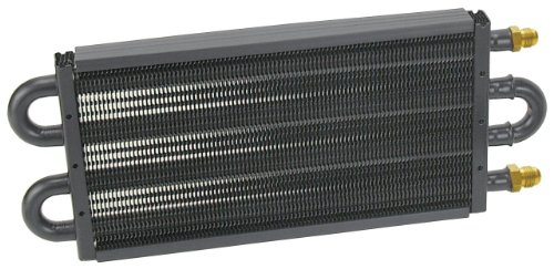 Derale 13311 Series 7000 Tube and Fin Cooler Core,Black