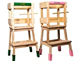 Deskiturm Torre di apprendimento Montessori, con un set di...