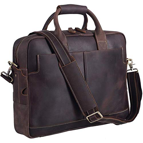 mens leather laptop bag uk