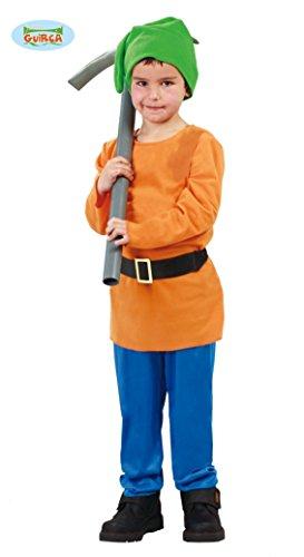 Generique - Disfraz Enanito de la Mina niño - 10-12 años (140/152)
